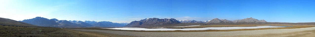 Galbraith Lake as viewed from Mile 273.2 on the Dalton Hwy.