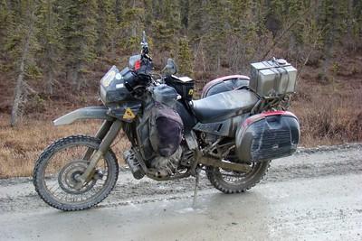 A Muddy KLR