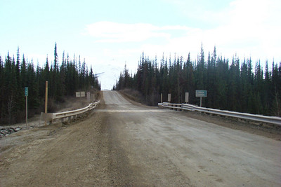 Gold Creek and MP197, facing south.