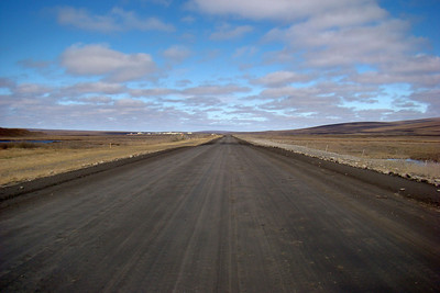 6/6/08 - 2:16PM - Facing north up the Dalton Highway while standing at MP310.