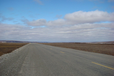 6/6/08 3:34PM - Looking north along the Sag River valley from MP340.