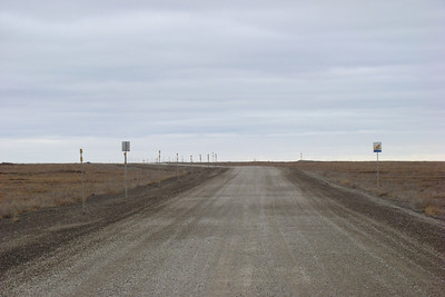 6/6/08 4:33PM - Looking north over the empty, barren tundra from MP370.