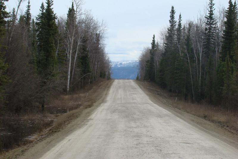 MP60 looking south, toward the Yukon River.