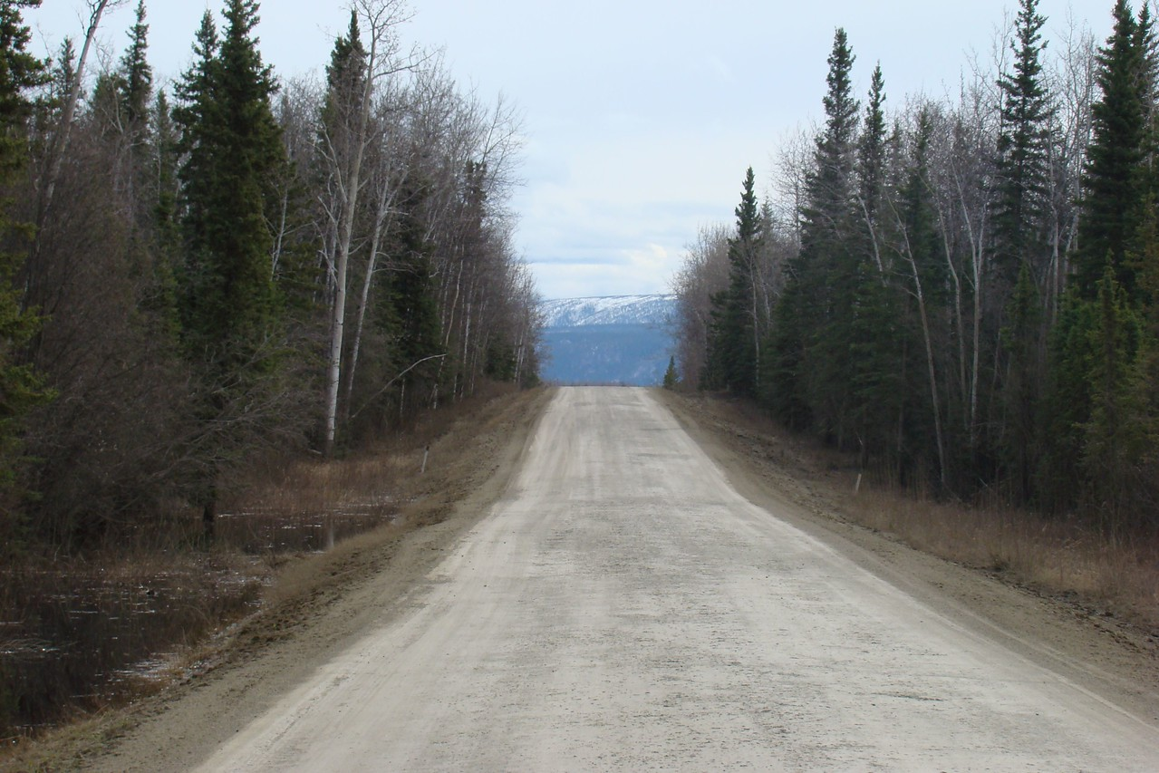 MP60 looking south, toward the Yukon River.