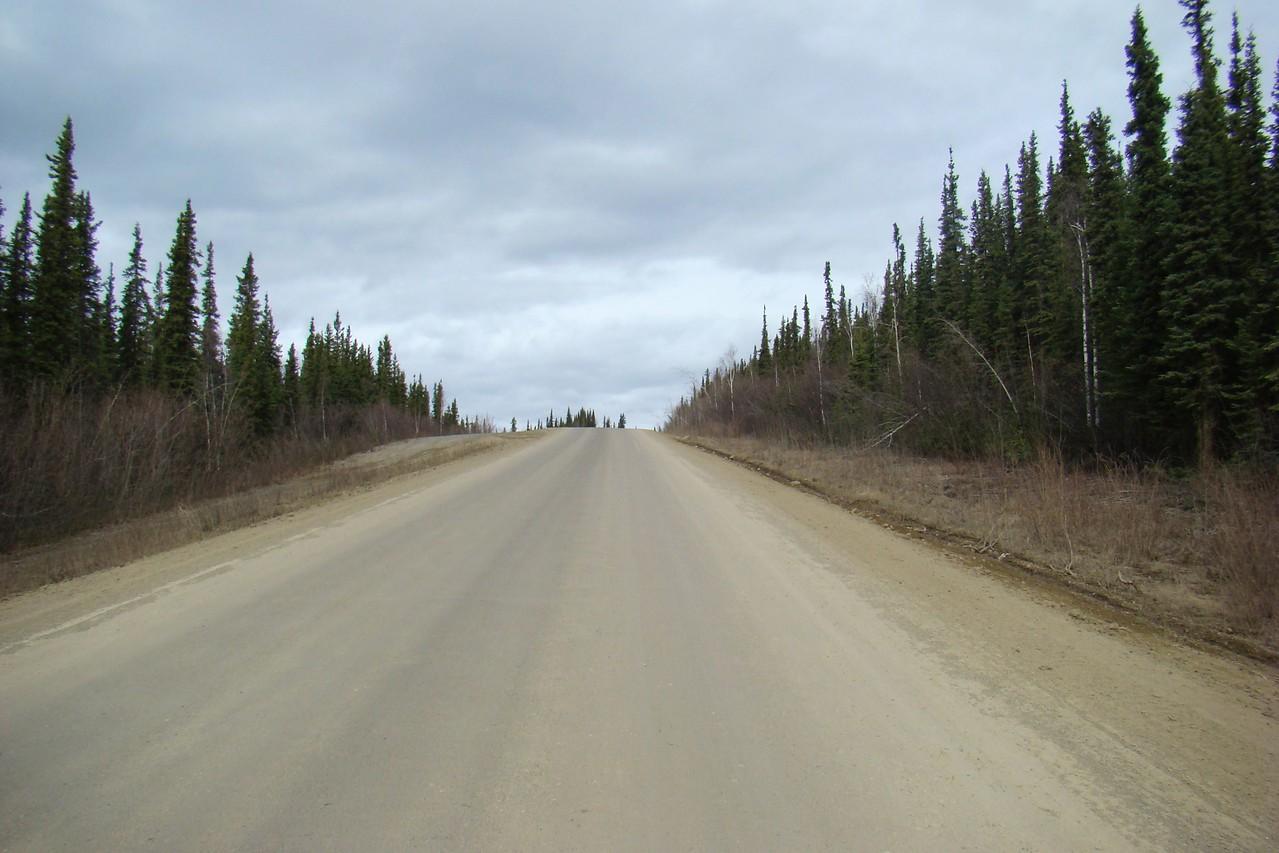 At MP70 facing north.