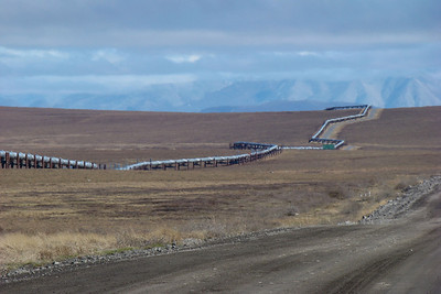 This shot shows that the pipeline is not a straight shot to anywhere.