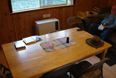 Kitchen Table at the Lodge