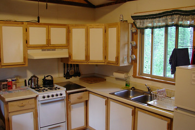 Kitchen at the Lodge
