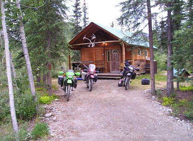 August 9, 2008 - The cabin at Boreal Lodging.