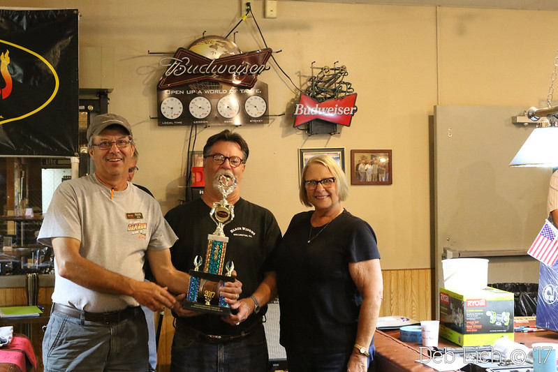 """Top Participant ~ Chosen by Pierre street Masters Members"" ~ Thom and Phyllis Vanpelt, Rapid City, SD ~ '28 Ford roadster"