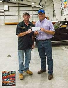 Kale Urban, 2020 Dam run Chairman and Shane Kramme, Fort Pierre Chamber of Commerce