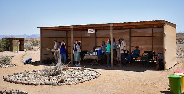 Wilderness Airlines waiting area, Door Nawas