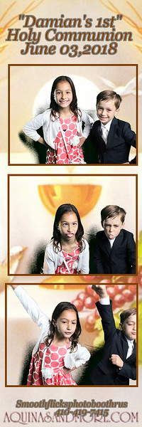 Damian First Communion June 03,2018