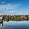 KM 4 - Lower Fox River in Fall