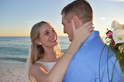 Beautiful beach wedding at Anna Maria Island, FL