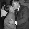 Leahy gives supporter Cheryl Sexton a kiss. SUN FILE PHOTO