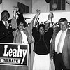 Celebrating an election victory are, from left, Frank and Darlene Gorman, and Gloria and Dan Leahy. SUN FILE PHOTO