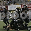 Date: 9/7/2007<br /> Location:  DeKalb, Illinois<br /> <br /> Caption:   Chronicle photo ERIC SUMBERG<br /> <br /> Summary:  DeKalb Barbs take on the Sycamore Spartans at Huskie Stadium
