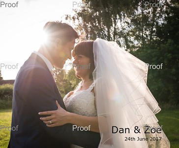 Dan & Zoe Album Design - 2nd Set