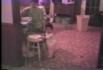 Video Archive Clip 1991 (3) - Yaden, Alexandria R. - Alex (Age 11 mos) Takes Some Steps - Beaton Lake Estates Home - Corsicana, TX - Danny (Age 12), Matthew (Age 9), Jacob (Age 6), Steven (Age 2) - Mixed Relations Series - Edited in March 1991 (3 min 2 sec)