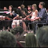 Video Archive Clip 2002 (Nov) - Yaden, Alexandria R. - Age 12 - Alex (back row, center screen with white hair band) playing violin during a Walt Clark strings concert - Bob Kreutz, Orchestra Director - Walt Clark Middle School Auditorium - Loveland, CO - Original VHS Series (4 min 55 sec)