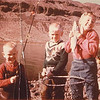 Dan Yaden, Sr. (center) - 1961 - Age 7 - With brother Mark (age 5) and sister Susan while big game fishing at Banks Lake - Central Washington State