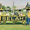 "Dan Yaden, Sr. - 1970 (Spring) - Age 16 - Back row, left of center with tennis racket - Extra Curricular Representatives - Selah High School - Selah, WA - From 1970 ""Fruitspur"" Yearbook"