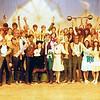 "Dan Yaden, Sr. - 1970 (May) - Age 16 - As Dr. Glass in ""Carnival"" (1st row, 3rd from left) - Cast Photo - Selah High School - Selah, WA"
