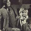 "Dan Yaden, Sr. [right] - 1971 (May) - Age 17 - Selah Valley Optimist publicity photo for ""Finian's Rainbow"" - Dan played the role of Og the Leprechaun - With Steve Bidlake as Finian McLongergan - Selah High School - Selah, WA"
