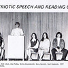 Dan Yaden, Sr. [3rd from left] - 1971 (Spring) - Age 17 - Patriotic Speech And Reading Contest - Selah High School - Selah, WA - From 1971 Fruitspur Yearbook