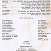 "Dan Yaden, Sr. - 1971 (May) - Age 17 - Program 'Production Staff/Orchestra' page for ""Finian's Rainbow"" - Dan played the role of Og the Leprechaun - Selah High School - Selah, WA"