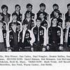 Dan Yaden, Sr. [front row, 3rd from left] - 1971 (Spring) - Age 17 - Junior Lettermen - Selah High School - Selah, WA - From 1971 Fruitspur Yearbook