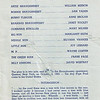 """Dan Yaden, Sr. - 1973 (Feb) - Age 18 - Program cast of characters page for """"The House of Blue Leaves"""" - Dan played the role of Ronnie Shaughnessy - Kendall Hall Auditorium - Yakima Valley College - Yakima, WA"""