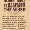 "Dan Yaden, Sr. - 1973 (May) - Age 19 - Program for ""The Miser"" - Dan played the role of Harpagon - Kendall Hall Auditorium - Yakima Valley College - Yakima, WA"