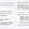 "Dan Yaden, Sr. - 1976 (April) - Age 22 - As Billy Bibbit in ""One Flew Over The Cuckoo's Nest"" - Program (lower portion) - Glenn Hughes Playhouse - University of Washington - Seattle, WA"