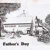 "Dan Yaden, Sr. - 1976 (June) - Age 22 - Program cover for ""Father's Day"" - Dan played the role of Harold - Southbury Playhouse - Southbury, CT"