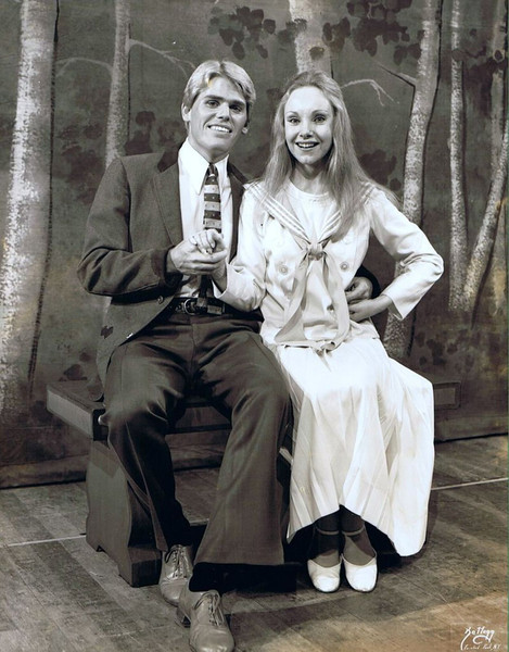 "Dan Yaden, Sr. - 1978 - Age 24 - As Rolf in ""The Sound Of Music"" - With Deborah Walker as Liesl Von Trapp - Pocono Playhouse - Mountainhome, PA"