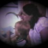 Dan Yaden, Jr. - 1981 (June) - Age 3 - Danny and Mom (Julie) watch Matthew through the nursery window - Yakima Valley Memorial Hospital - Yakima, WA (Captured from 8mm film)