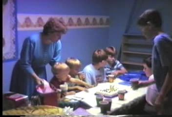 Video Archive Clip 1990 (4) - Yaden, Daniel C. Jr. - Danny's 12th Birthday (April 20) - Corsicana, Texas - Matthew (Age 8), Jacob (Age 5), Steven (Age 1 yr 11 mos) - Original VHS Series (7 min 29 sec)