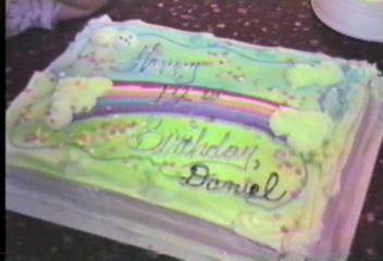 Video Archive Clip 1992 (4) - Yaden, Daniel C. Jr. - Danny's 14th Birthday (April 20) at the Selah farmhouse - Selah, WA - Sid (Age 13), Derek (Age 10), Matthew (Age 10), Jacob (Age 7), Megan (Age 6), Steven (Age 3), Alex (Age 2) - Mixed Relations Series - Edited in April 1992 (8 min 47 sec)