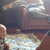 Video Archive Clip 2012 (Nov 25) - Cole Daniel Yaden - Age 7 mos - Football with Uncle Matt - Rensselaer, IN (54 sec)