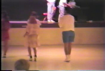Video Archive Clip 1988 (9) - Yaden, Jacob B. - Jacob (Age 3) Putting On The Moves At The Armadillo Stampede Clogging Workshop - Oklahoma City, OK - Clogging Memoirs Series (1 min 39 sec)