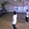"Video Archive Clip 1998 (September 27) - Yaden, Jacob B. - Jacob (age 13, back row 2nd from camera) dances the ""Everybody"" routine. Brother Steven (age 10) is also dancing the routine on the far end of the middle row, but unfortunately can't be seen from this camera position - Free Spirit Cloggers Performance at Geauga Lake - Aurora, OH - Clogging Memoirs Series (3 min)"