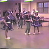"Video Archive Clip 1996 (3) - Yaden Clogging - Julie (keeping time in the wings), Jacob (age 11; back row, middle) & Steven (age 7; back row, far right) Clog to ""Should've Asked Her Faster"" - Buckeye Country Cloggers - Bellville, OH - Clogging Memoirs Series (2 min 53 sec)"