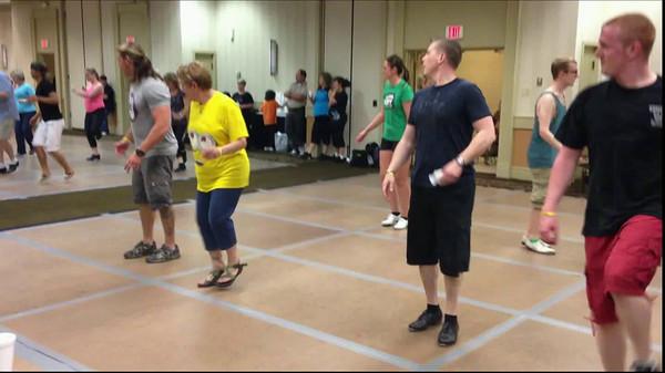 Clogging Teams - Julie, Matthew & Jacob
