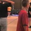 Video Archive Clip 1999 (May 29) - Yaden Clogging - Julie (age 45, in USMC shirt) and Steven (age 11, in red shirt) dance the new Scotty Bilz routine - Memorial Day Weekend Clogging Workshop - Columbus, OH - Clogging Memoirs Series (3 min 42 sec)