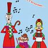 Dan & Julie Yaden - 1988 (Dec) - Cover of family Christmas card - Corsicana, TX
