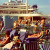 "Yaden, Dan Sr. - 1977 (September) - Dan takes photo of pool area on the Rotterdam cruise ship (Holland America Line) - ""The Fantastiks"" Theatre Tour from New York Harbor to Bermuda & The Bahamas"