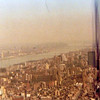 Yaden, Dan & Julie - 1978 (April) - Looking southeast to downtown Manhattan (East River) from window of our 30th floor apartment at Manhattan Plaza - 42nd Street & 9th Avenue - New York City, NY
