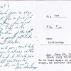 "Dan Yaden - 1970 (July) - Age 16 - Closing night card to cast members from director David Hardaway - ""Stop the World, I Want to Get Off!"" - Yakima Little Theatre - Yakima, WA"